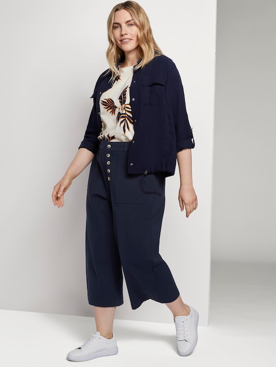 Culotte im Utility-Look - Frauen - Real Navy Blue - 3 - My True Me