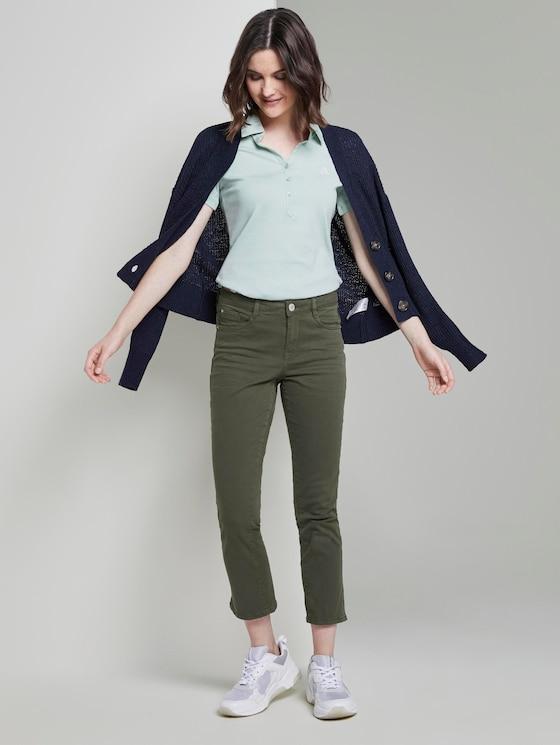 Alexa Slim in 7/8-Länge - Frauen - Woodland Green - 3 - TOM TAILOR