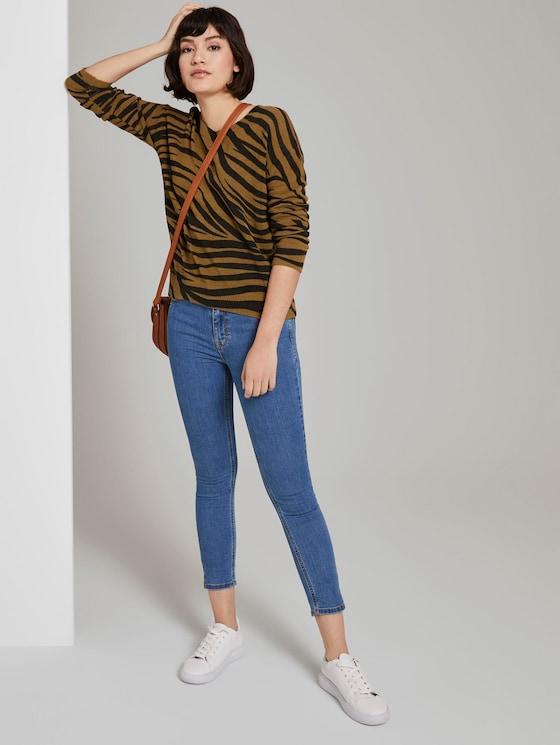 Kate Skinny Jeans mit kurzen Seitenschlitzen - Frauen - Clean Mid Stone Blue Denim - 3 - Mine to five