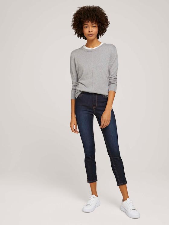 Kate Skinny Jeans mit kurzen Seitenschlitzen - Frauen - Rinsed Blue Denim - 3 - Mine to five