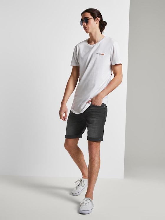 Schlichte Denim Shorts - Männer - black denim - 3 - TOM TAILOR Denim