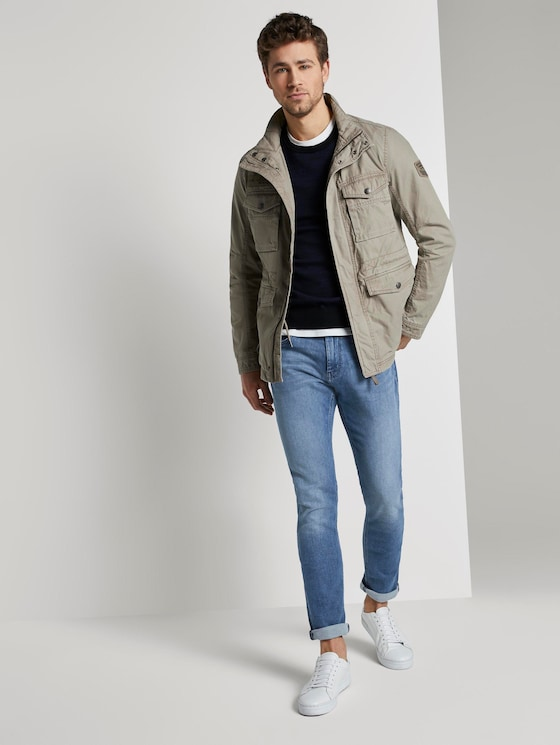 Josh Regular Slim Jeans - Männer - light stone wash denim - 3 - TOM TAILOR