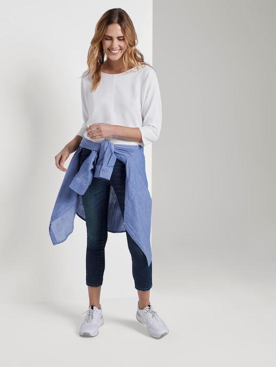 Alexa Slim Jeans - Frauen - dark stone wash denim - 3 - TOM TAILOR