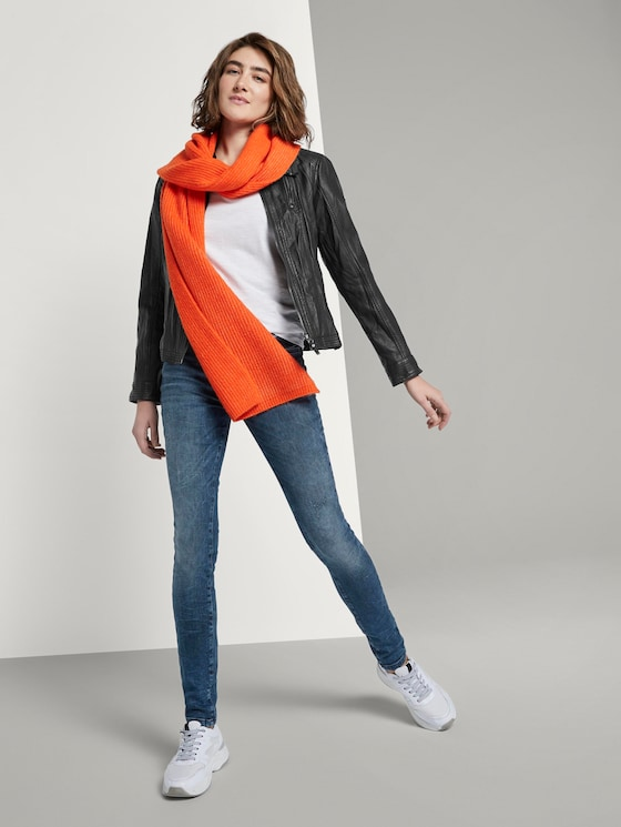 Alexa Skinny Jeans - Frauen - random bleached  blue denim - 3 - TOM TAILOR