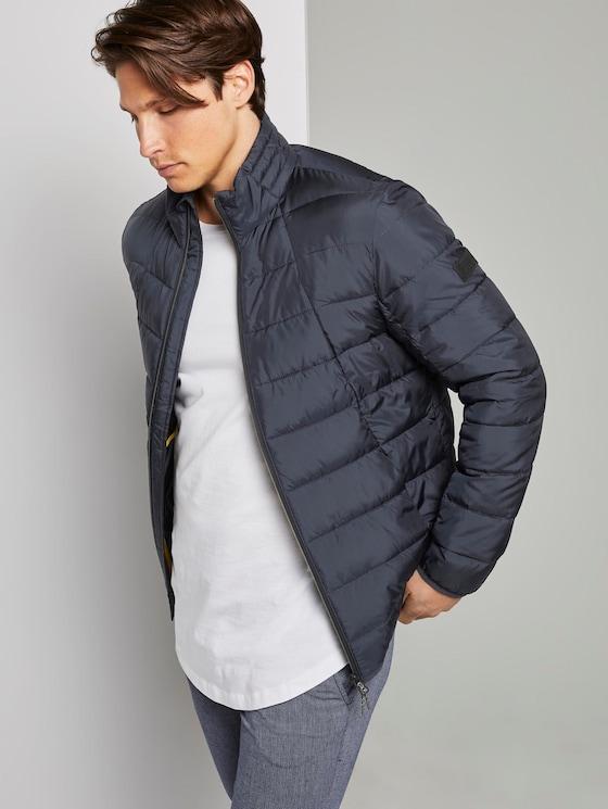 Modern lightweight quilted jacket - Men - Sky Captain Blue - 5 - TOM TAILOR Denim