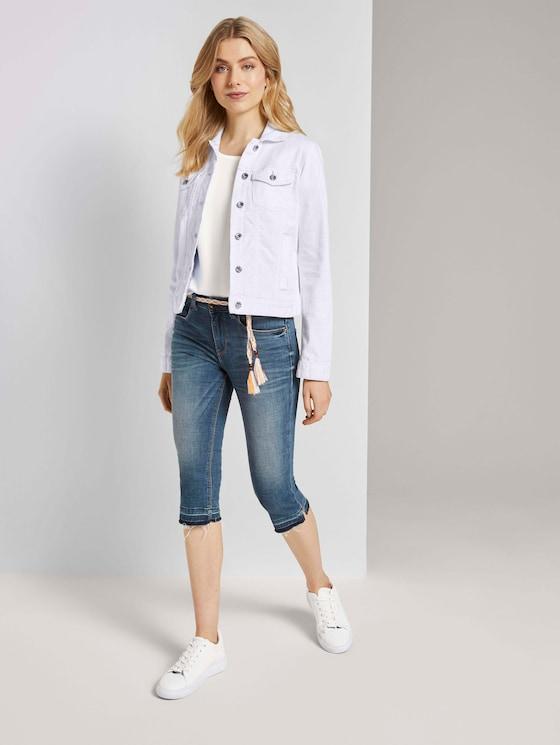 Alexa Slim Capri-Jeans mit Abrasionen - Frauen - light stone wash denim - 3 - TOM TAILOR