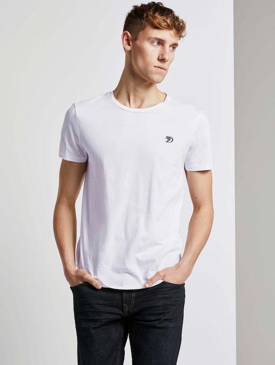 T-Shirts im Dreierpack - Männer - White - 5 - TOM TAILOR Denim