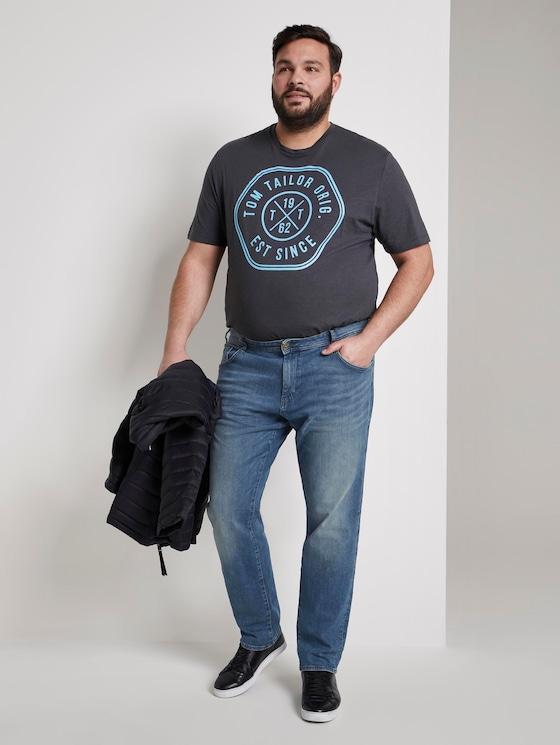 Slim Jeans - Männer - light stone wash denim - 3 - Men Plus