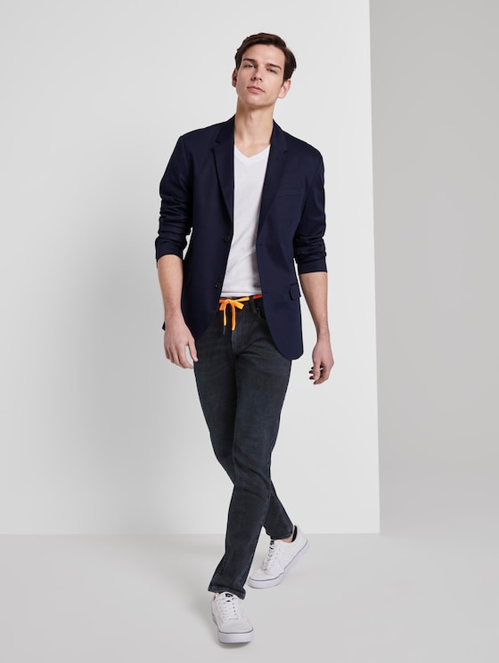Culver Super Skinny Performance Stretch Effect - Men - blue black denim - 3 - TOM TAILOR Denim