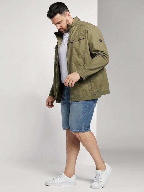 Josh Regular Slim Denim Shorts - Männer - light stone wash denim - 3 - Men Plus