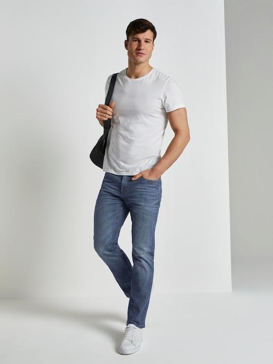 Marvin Straight Jeans in heller Waschung - Männer - dark stone wash denim - 3 - TOM TAILOR