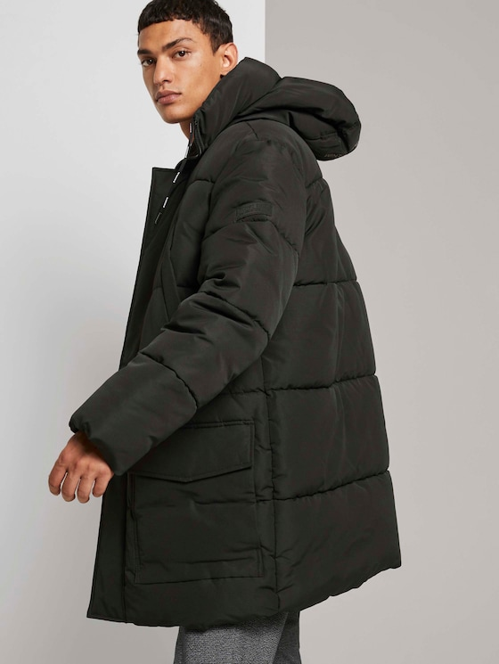 Gesteppter Winter Parka  - Männer - Black - 5 - TOM TAILOR Denim