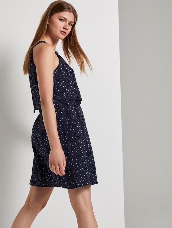 Neckholder Minikleid - Frauen - dark blue minimal - 5 - TOM TAILOR Denim