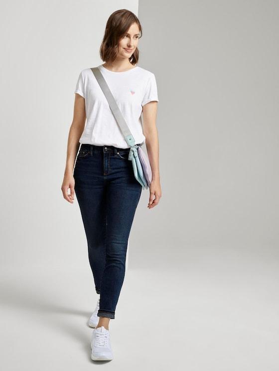 Nela Extra Skinny Jeans - Frauen - Used Mid Stone Blue Denim - 3 - TOM TAILOR Denim