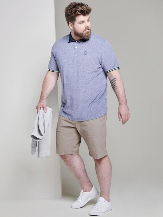 Josh Regular Slim Chino Shorts - Männer - beige structure - 3 - Men Plus