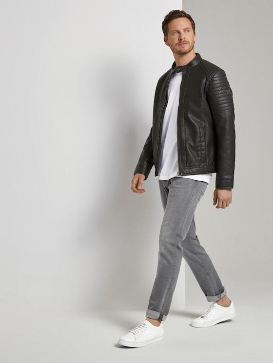Josh Regular Slim Jeans - Männer - grey denim - 3 - TOM TAILOR