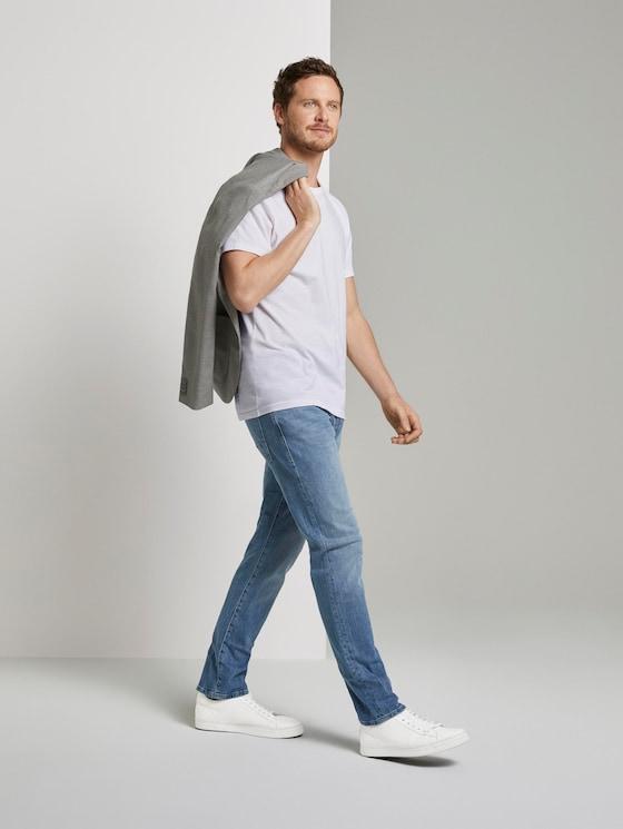 Josh Regular Slim Jeans - Männer - light stone wash denim - 3 - TOM TAILOR