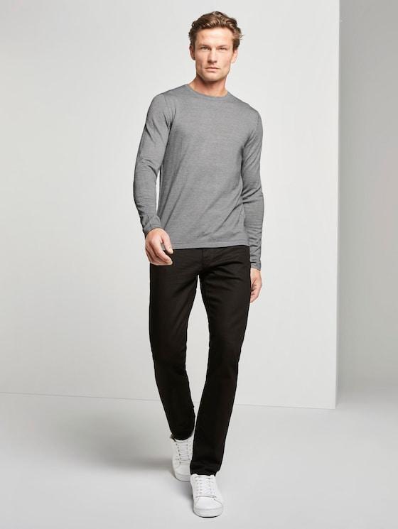Marvin Straight Jeans - Männer - clean raw black denim - 3 - TOM TAILOR