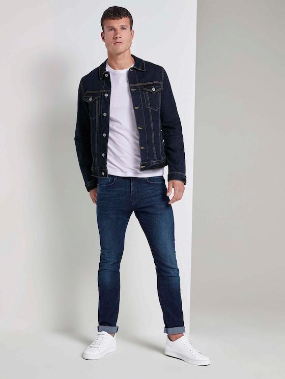 Troy slim jeans - Men - mid stone wash denim - 3 - TOM TAILOR