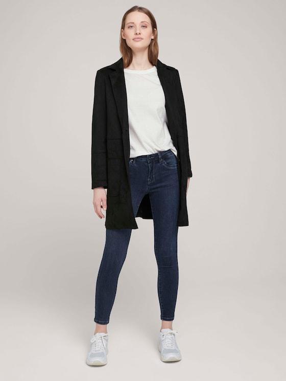 Nela Extra Skinny Jeans - Frauen - dark stone blue black denim - 3 - TOM TAILOR Denim