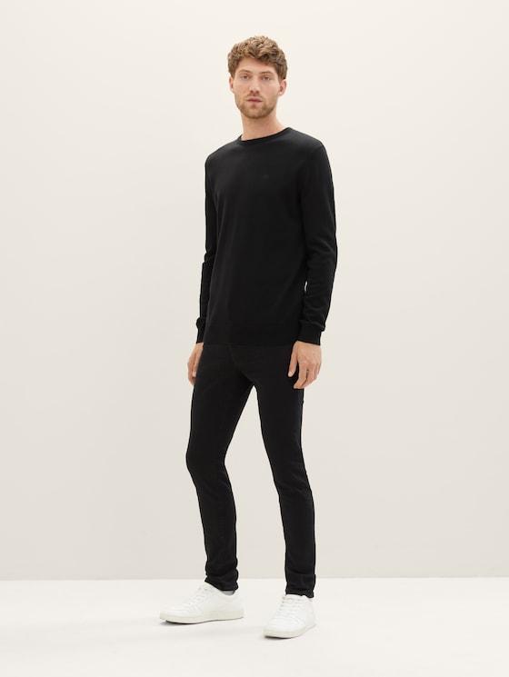 Troy slim jeans - Men - black black denim - 3 - TOM TAILOR