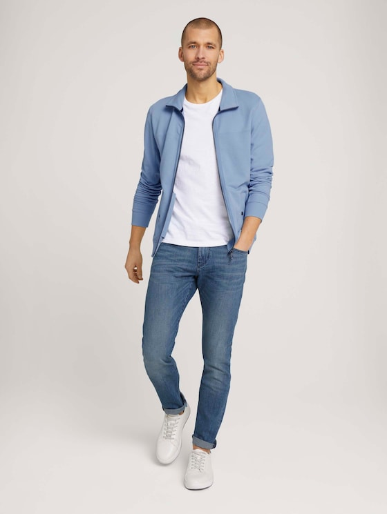 Troy Slim Jeans - Männer - light stone wash denim - 3 - TOM TAILOR