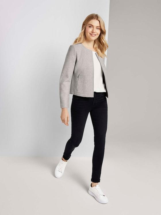 Kate Skinny Jeans - Frauen - used dark stone grey denim - 3 - TOM TAILOR