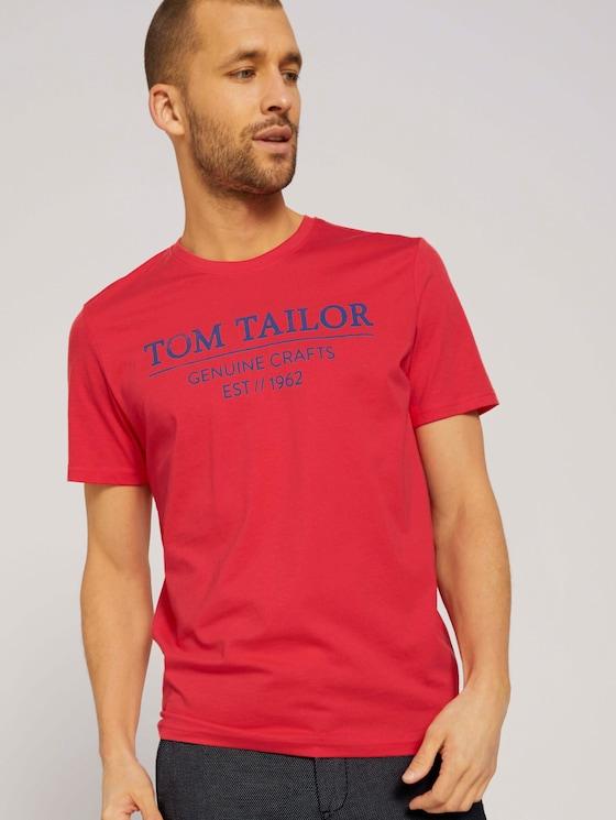 T-Shirt mit Bio-Baumwolle - Männer - Virtual Rec - 5 - TOM TAILOR