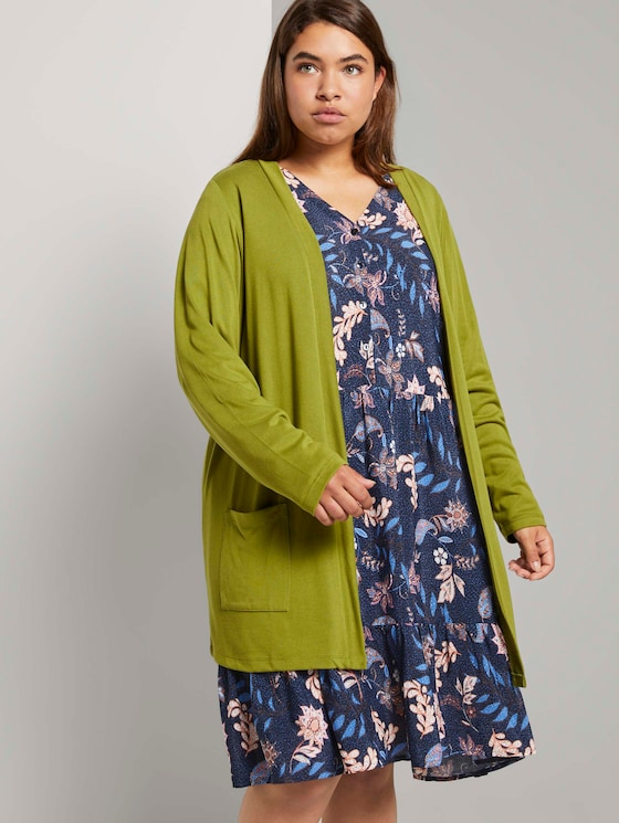 Loose shirt cardigan - Women - wood green - 5 - My True Me