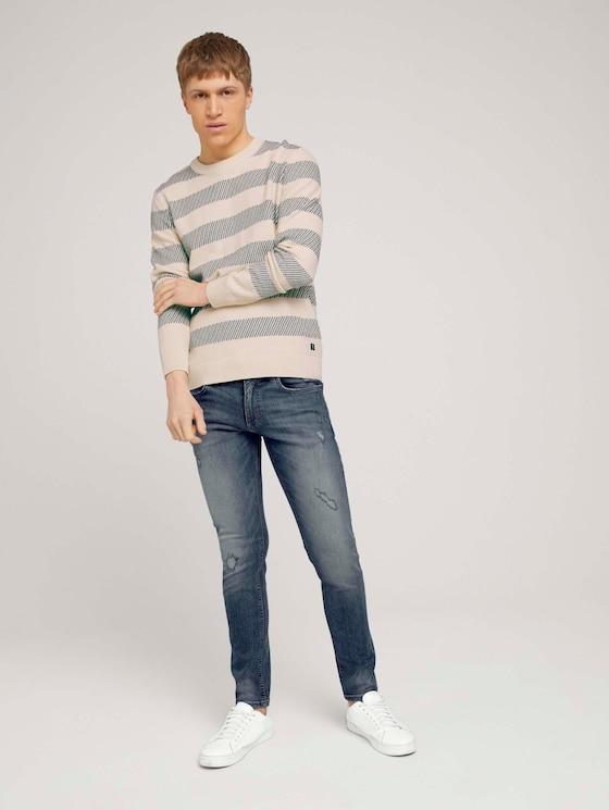 Slim Piers blue Jeans - Männer - Used Bleached Blue Denim - 3 - TOM TAILOR Denim
