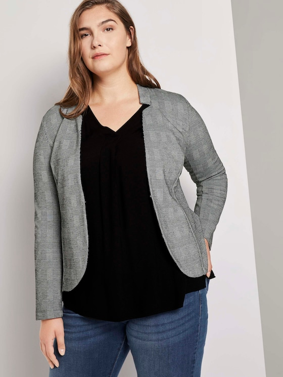 Karierter Blazer - Frauen - Glencheck Sweat Ori - 5 - My True Me