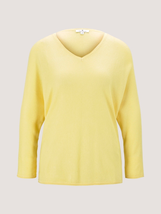 Pullover mit Fledermausärmeln - Frauen - honey popcorn - 7 - TOM TAILOR