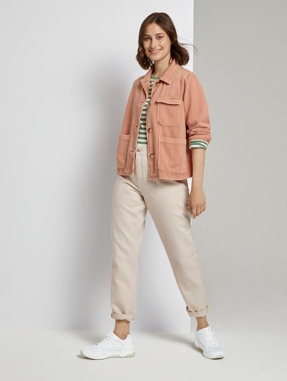 Mom Fit Ecru-Jeans - Frauen - unbleached natural bull denim - 3 - TOM TAILOR Denim