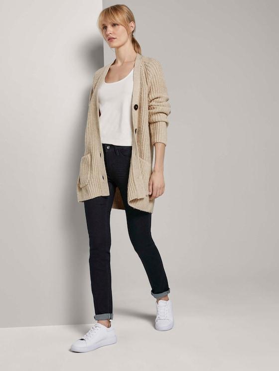 Alexa Slim Jeans - Frauen - Clean Rinsed Blue Denim - 3 - TOM TAILOR