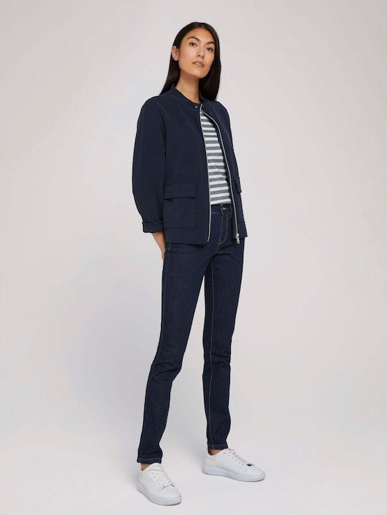 Alexa Slim-jeans - Vrouwen - Clean Rinsed Blue Denim - 3 - TOM TAILOR