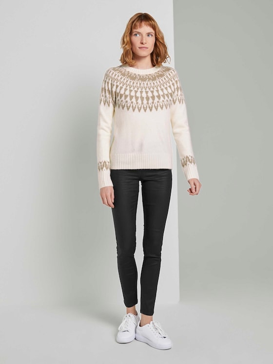 Alexa Skinny Stretch Jeans - Vrouwen - Deep Black - 3 - TOM TAILOR