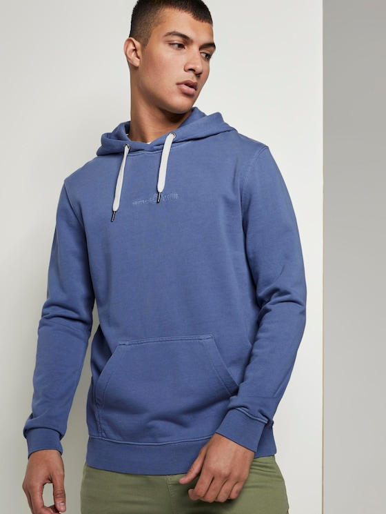 Bedrukte Hoodie - Mannen - English Country - 5 - TOM TAILOR Denim
