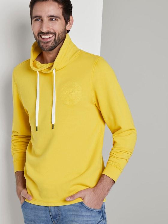 Snood mit Logo-Stickerei - Männer - Californian Yellow - 5 - TOM TAILOR