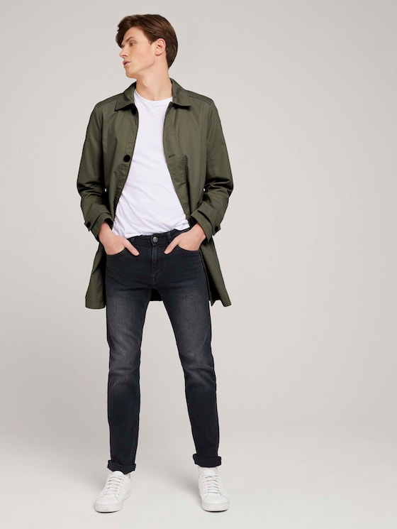 Josh Slim Jeans - Männer - clean dark stone grey denim - 3 - TOM TAILOR