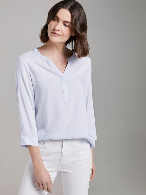 Schlichte Bluse - Frauen - Kentucky Blue - 5 - TOM TAILOR