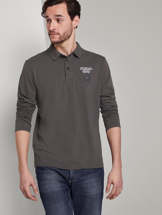 Poloshirt mit Logo-Print - Männer - Magnet - 5 - TOM TAILOR