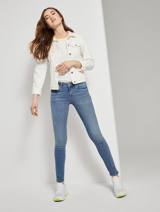 Jona Extra Skinny Jeans - Frauen - mid stone wash denim - 3 - TOM TAILOR Denim