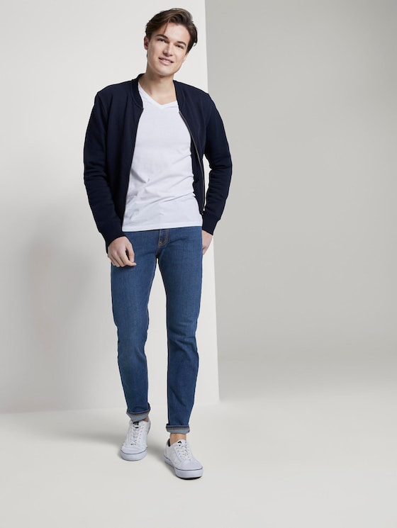 Piers Slim Jeans - Männer - Tinted Blue Denim - 3 - TOM TAILOR Denim
