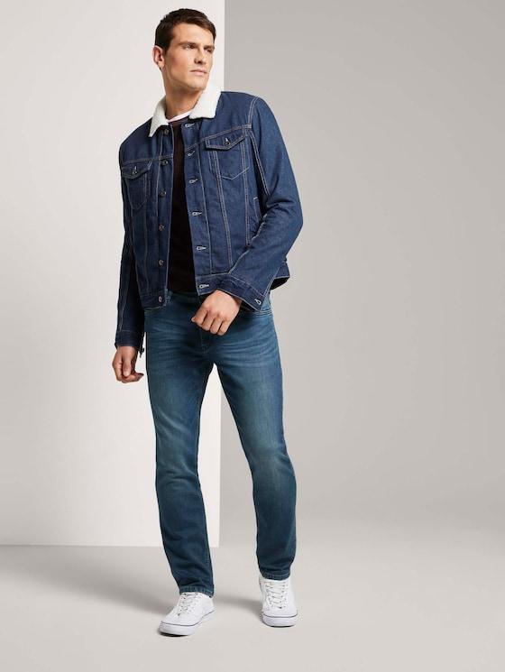 Josh Regular Slim Jeans - Männer - dark blue denim - 3 - TOM TAILOR