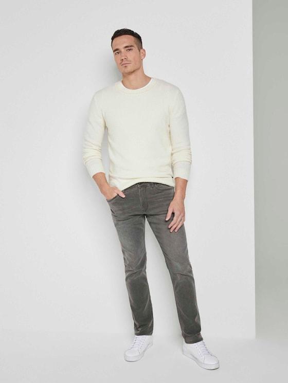 Josh Regular Slim Jeans - Männer - clean mid stone grey denim - 3 - TOM TAILOR