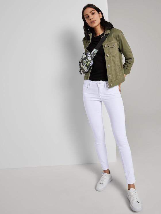 Alexa Slim Jeans - Frauen - White Denim - 3 - TOM TAILOR