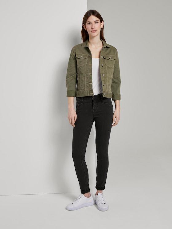Alexa Skinny Jeans - Frauen - black denim - 3 - TOM TAILOR