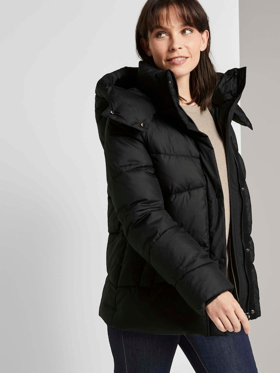 Puffer Winterjacke - Frauen - Deep Black - 5 - TOM TAILOR