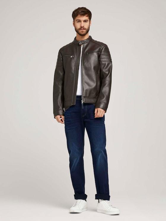 Trad Relaxed Jeans - Männer - raw blue black denim - 3 - TOM TAILOR