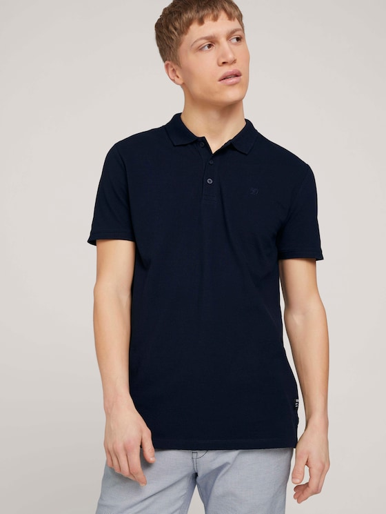 Basic Poloshirt - Männer - Sky Captain Blue - 5 - TOM TAILOR Denim